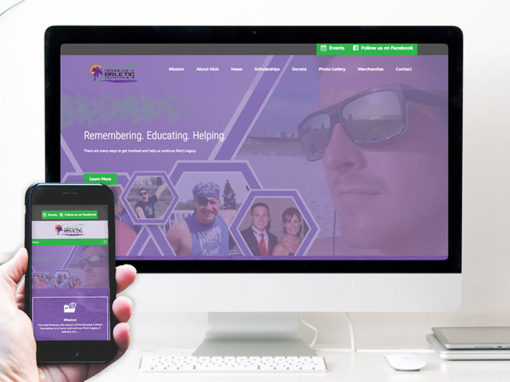 Nicholas A Brletic Foundation – website design