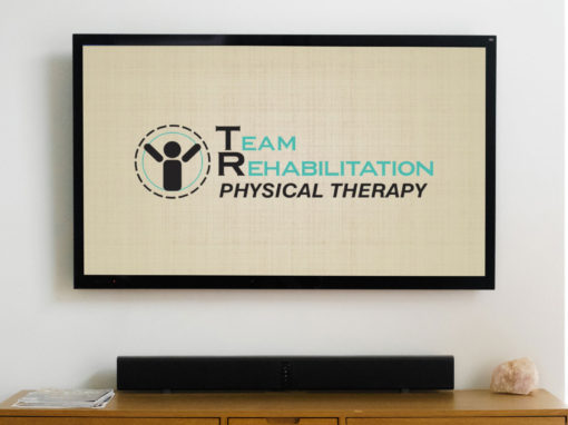 Team Rehabilitation – animated logo and bug